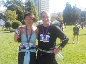 Victoria Marathon - done!