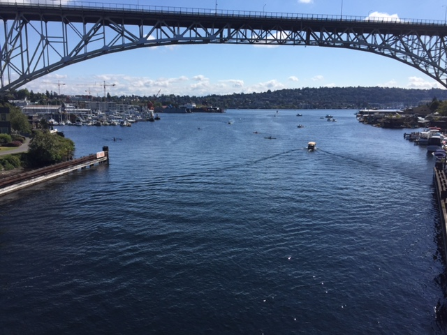 View from Fremont Bridge